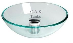 GLASS SURFACE MOUNT BOWL 360mm